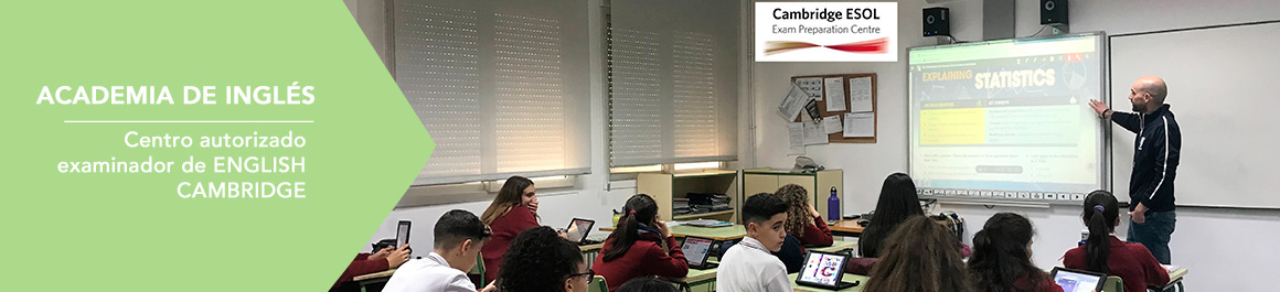 Academia de inglés: Centro autorizado examinador de Cambridge English Languag Assessent