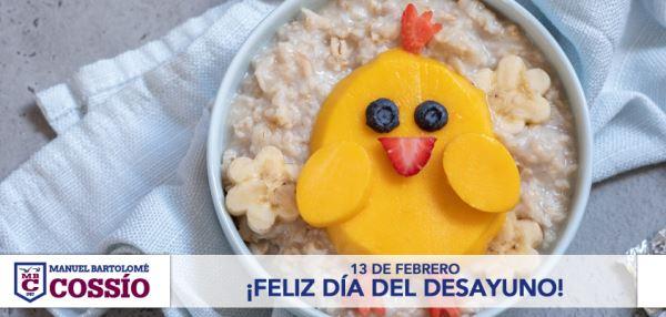 Hoy, 13 de febrero, es el día del desayuno, y estaréis con nosotros en que es una de las comidas más importantes del día