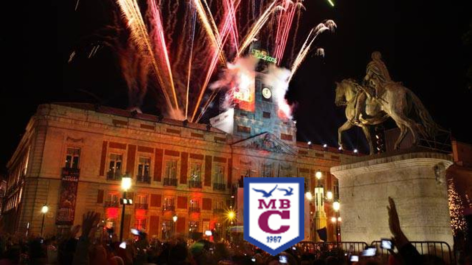En el Colegio M. B. Cossío celebramos la Nochevieja