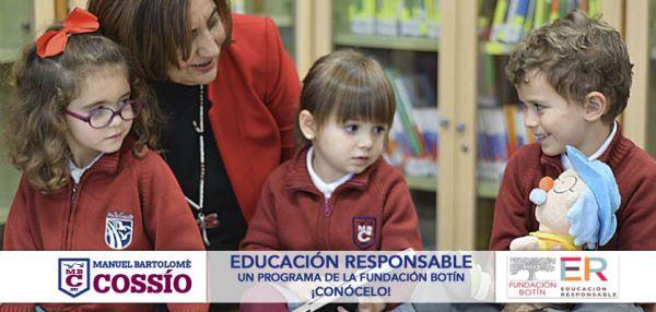 Nuestro colegio ya forma parte del Programa Educación Responsable promovido por la FUNDACIÓN BOTÍN