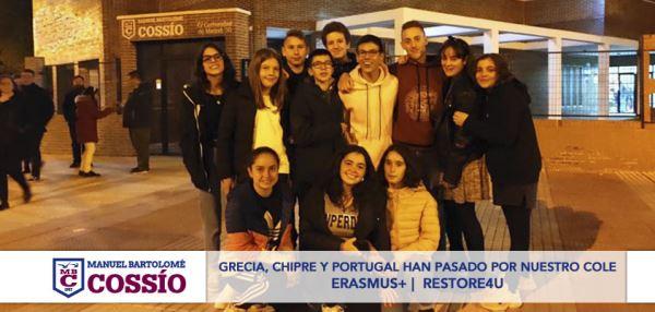 Grecia, Chipre y Portugal han pasado por nuestro cole con el programa Erasmus+