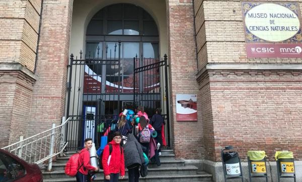 NOCHE EN EL MUSEO DE CIENCIAS NATURALES