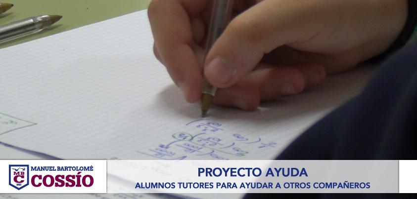 Alumnos tutores para ayudar a otros compañeros